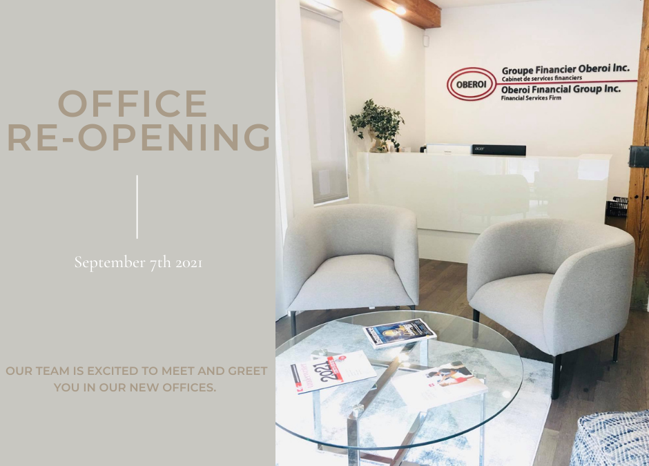 Office reopening